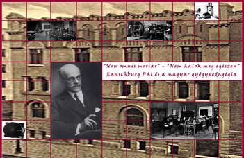 Újra látogatható a Ranschburg Pál és a magyar gyógypedagógia című kiállítás